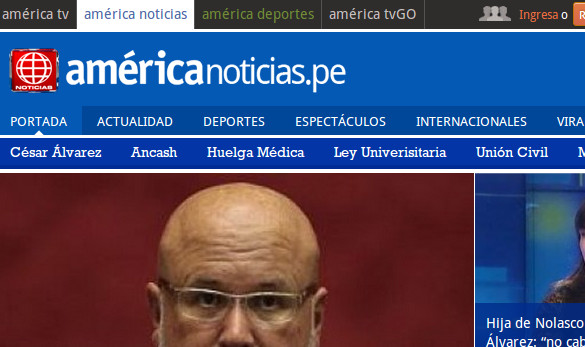 Developed Back AmericaNoticias.pe